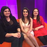 Mandy Sanghera and Chaya Syal